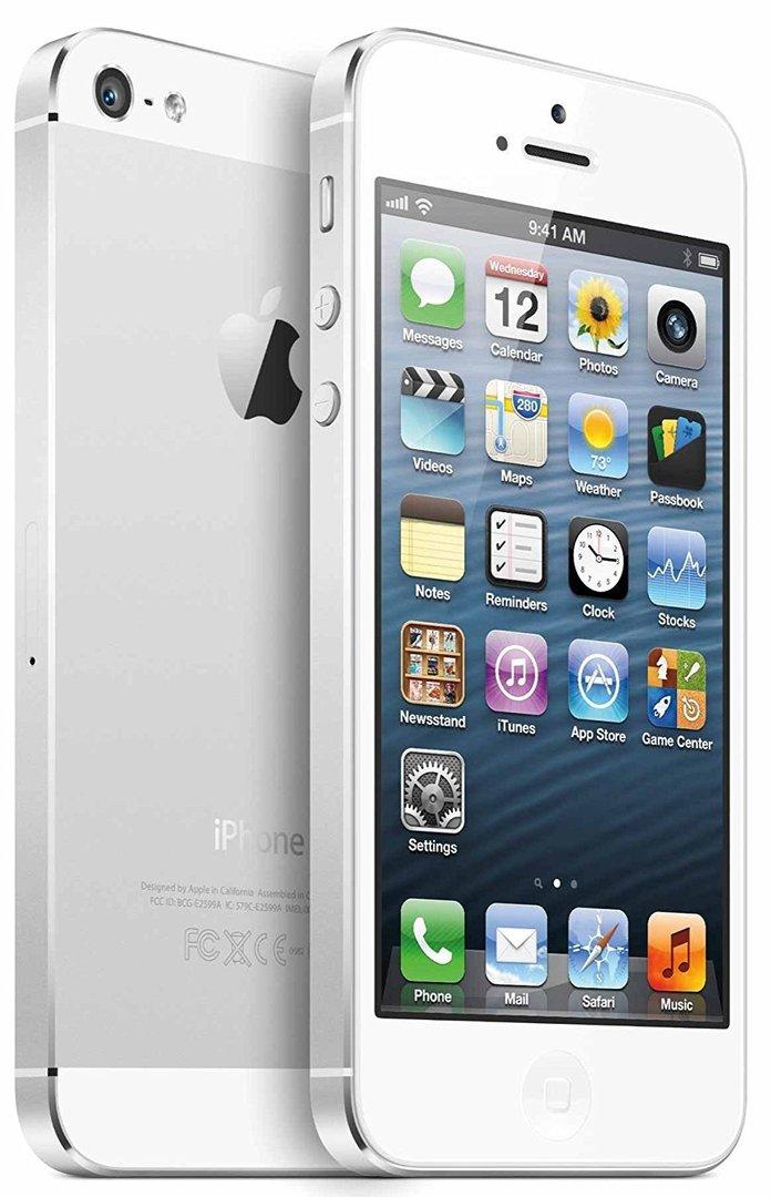 apple iphone 5 64gb ohne vertrag und ohne simlock silber. Black Bedroom Furniture Sets. Home Design Ideas